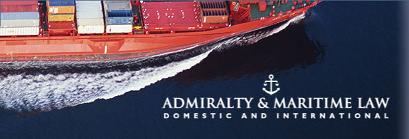 Admiralty and maritime law, domestic and international